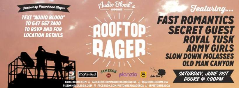 AudioBlood Rooftop Party